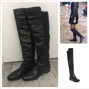 Over the Knee Flat Boots Sz 8.5